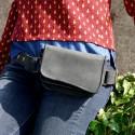 Ceinture en cuir à poches - Sac de hanche