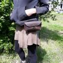 Pochette pour ceinture en cuir - Steampunk