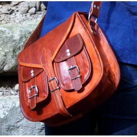 Grand sac à main à bandoulière - LadiesBag - XL
