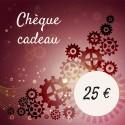 Chèque cadeau 25 €