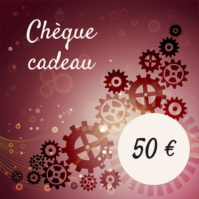 Chèque cadeaux 50 €