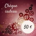 Chèque cadeau 50 €