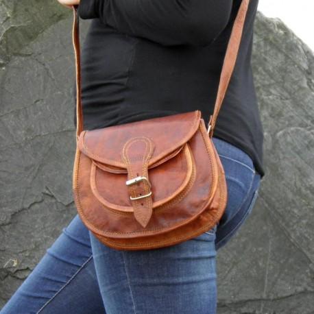 petit sac marron femme