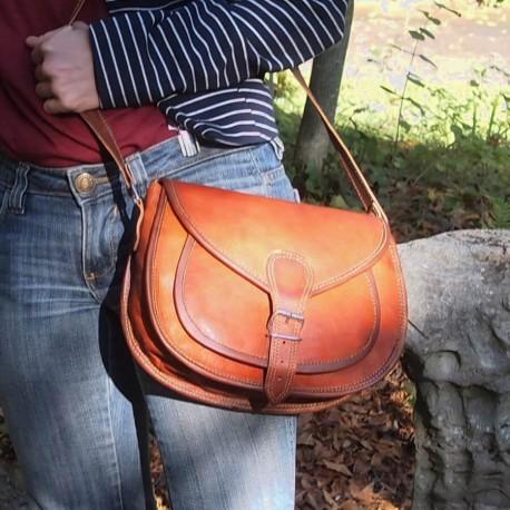 sac à main cuir femme bandoulière ladies bag L