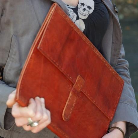 Porte documents cuir Brut - Vintage
