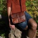 Petit sac à main en cuir à bandoulière – 1 Boucle – S
