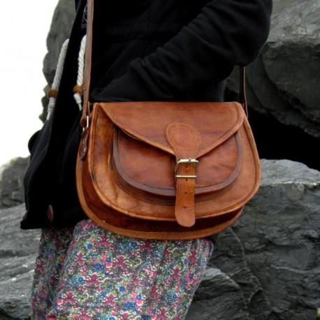 sac à main cuir femme bandoulière ladies bag M