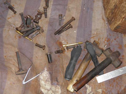 fabrication artisanale sac en cuir