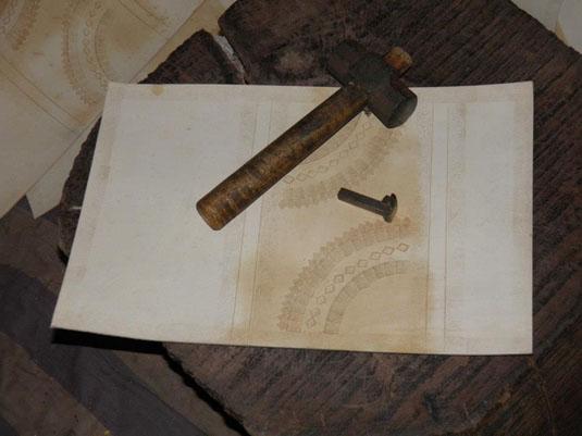 artisanat sac en cuir